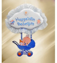 Bebek Kapı Süsü Puset